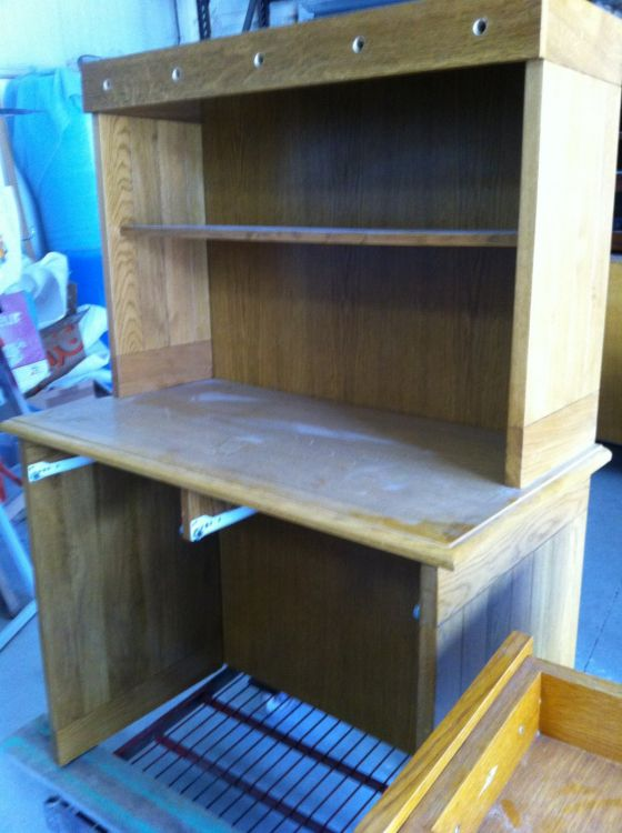 Massif lot mobilier peinture sur mtaux meuble chene with for Repeindre un meuble en chene massif