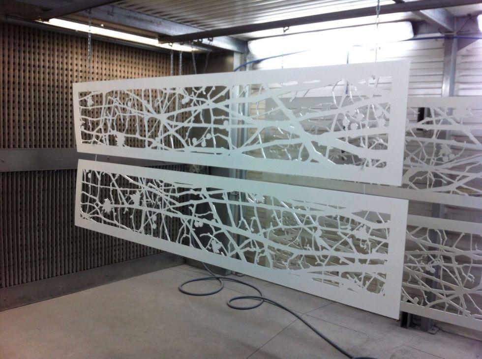 peinture sur aluminium acier et fonte dg peintures. Black Bedroom Furniture Sets. Home Design Ideas