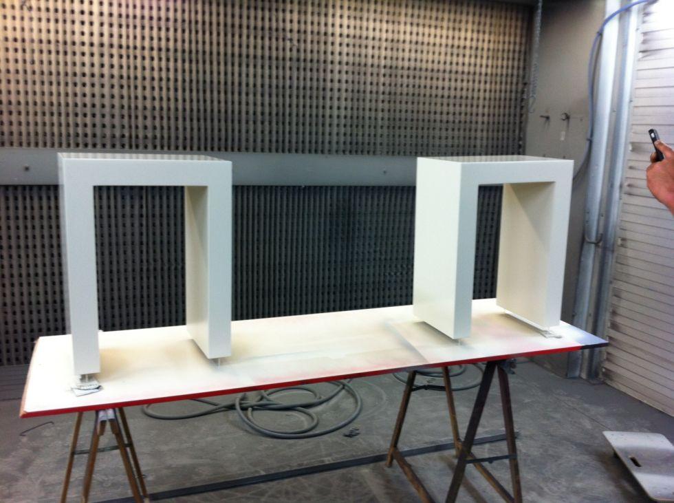laquage sur bois medium finition satin  Rénovation intérieure et  ~ Entreprise Laquage Bois